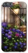 Flower - Hydrangea - Hydrangea And Geraniums  IPhone Case by Mike Savad