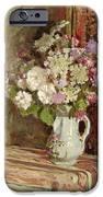 Flowers In A Vase IPhone Case by Edouard Vuillard