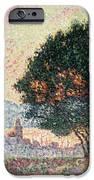 Forest Near St Tropez IPhone Case by Paul Signac