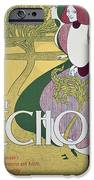 Front Cover Of The Echo IPhone Case by William Bradley