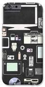 Gadgets Icon IPhone Case by Setsiri Silapasuwanchai