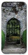 Gothic Entrance Gate, Walled Garden IPhone Case by The Irish Image Collection