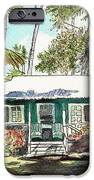 Green Cottage IPhone Case by Marionette Taboniar