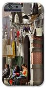 Hanging Out In The Streets Of Shanghai IPhone Case by Christine Till