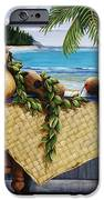 Hawaiian Still Life With Haleiwa On My Mind IPhone Case by Sandra Blazel - Printscapes