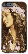Hawaiian Wahine IPhone Case by Himani - Printscapes