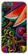 Healthy Fruit IPhone Case by Leon Zernitsky