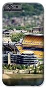 Heinz Field Pittsburgh Steelers IPhone Case by Lisa Russo