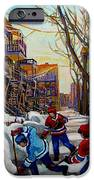 Hockey On De Bullion  IPhone Case by Carole Spandau