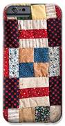 Homemade Quilt IPhone Case by Christopher Holmes