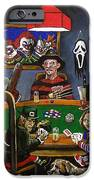 Horror Card Game IPhone Case by Tom Carlton
