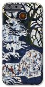 Horse Dreaming Below Trees IPhone Case by Carol  Law Conklin