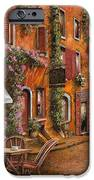 Il Bar Sulla Discesa IPhone Case by Guido Borelli