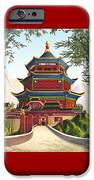 Imperial Palace IPhone Case by Melissa A Benson