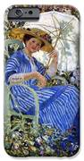 In The Garden IPhone Case by Frederick Carl Frieseke