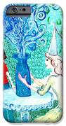 In The White Lady's Cave IPhone Case by Sushila Burgess