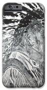 Indian Etching Print IPhone Case by Lisa Stanley