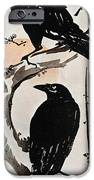 Japanese Print: Crow IPhone Case by Granger