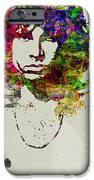 Jim Morrison IPhone Case by Naxart Studio