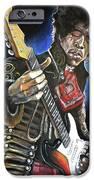 Jimi Hendrix IPhone Case by Tom Carlton