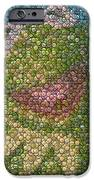 Kermit Mt. Dew Bottle Cap Mosaic IPhone Case by Paul Van Scott