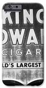 King Edward Cigars IPhone Case by David Lee Thompson
