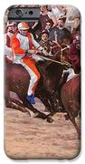 La Corsa Del Palio IPhone Case by Guido Borelli