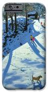 Large Snowball Zermatt IPhone Case by Andrew Macara