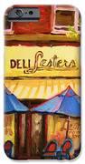 Lesters Cafe IPhone Case by Carole Spandau