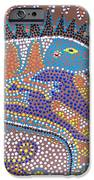 Lizard Dreaming IPhone Case by Vijay Sharon Govender