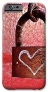 Lock/heart IPhone 6s Case by Julie Gebhardt