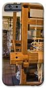 Loom And Fireplace In Settlers Cabin IPhone Case by Douglas Barnett