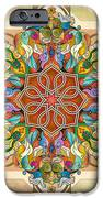 Mandala Birds IPhone Case by Bedros Awak