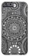 Mandala Bouquet IPhone Case by Matthew Ridgway