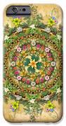 Mandala Flora IPhone Case by Bedros Awak