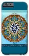 Mandala Shalom IPhone Case by Bedros Awak