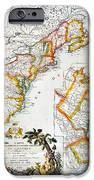 Map Of America, 1779 IPhone Case by Granger