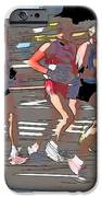 Marathon Runners II IPhone Case by Clarence Holmes