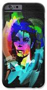 Michael Jackson IPhone Case by Mo T