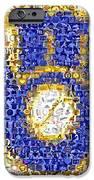 Milwaukee Brewers Mosaic IPhone Case by Paul Van Scott