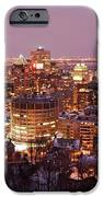 Montreal City Lights IPhone Case by Pierre Leclerc Photography