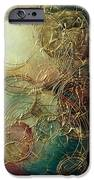 Moon Thread IPhone Case by Michael Lang