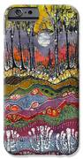 Moonlight Over Spring IPhone Case by Carol  Law Conklin