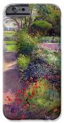 Morning Break In The Garden IPhone Case by Timothy Easton
