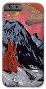 Mountains In Winter IPhone 6s Case by Ernst Ludwig Kirchner