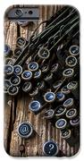 Old Worn Typewriter Keys IPhone Case by Garry Gay