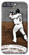 Omar Quintanilla Pro Baseball Player IPhone Case by Marilyn Hunt