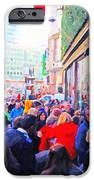 On The Day Before Christmas . Stockton Street San Francisco . Photo Artwork IPhone Case by Wingsdomain Art and Photography