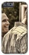 On The Road-mitt Romney IPhone Case by Joann Vitali