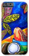 Papaya Morning IPhone Case by Patti Schermerhorn